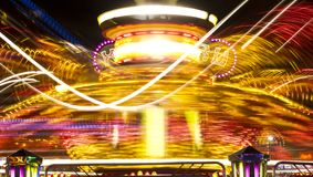 Amusement park ride Royalty Free Stock Image
