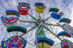 Amusement park ride Royalty Free Stock Images