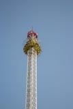 Amusement park ride royalty free stock photo
