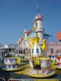 Amusement Park Rides Stock Photo