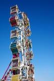 Amusement park rides Royalty Free Stock Image