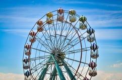 Amusement park rides Stock Photos