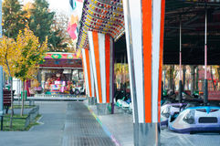 Amusement park rides Royalty Free Stock Images