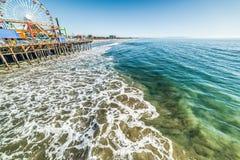 Amusement park in Santa Monica pier Royalty Free Stock Image