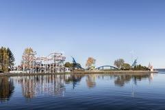 Amusement park Sarkanniemi Stock Photos