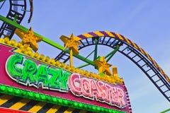 Amusement park sign Stock Photos