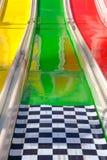 An amusement park slide Stock Photos