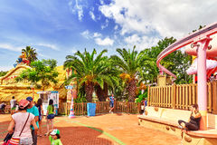 Amusement park. Royalty Free Stock Image