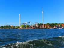 Amusement park in Stockholm, Sweden Royalty Free Stock Image