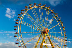 Amusement park in summer Stock Photos