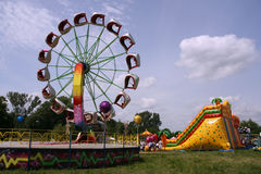 Amusement Park - Summer Fun Royalty Free Stock Photo