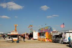 Amusement park in Texas stock image