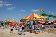 Amusement park in Texas royalty free stock photos
