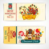 Amusement Park Tickets Royalty Free Stock Photos