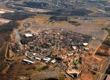 AMusement park under construstion Royalty Free Stock Image