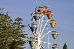 Amusement park wheel Royalty Free Stock Photos