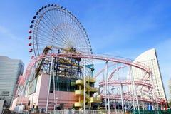 Amusement park in Yokohama Stock Image