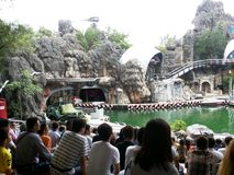 Amusement parks in Bangkok, Thailand. Safari World in Bangkok Royalty Free Stock Image