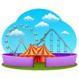 Amusement Part Concept Royalty Free Stock Photo