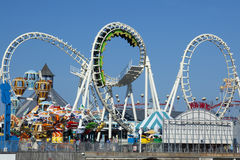 Amusement Pier Stock Image