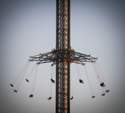 Amusement ride, carousel. royalty free stock images