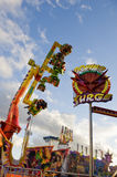 Amusement Rides Royalty Free Stock Photography