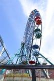 Amusement rides in the amusement park Stock Photography