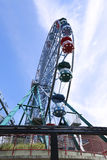 Amusement rides in the amusement park Stock Photography