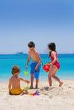 Amusement sur l'île Photos stock