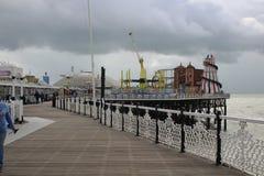 Amusement sur le Pier3 Image libre de droits