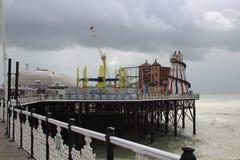 Amusement sur le Pier2 Image libre de droits