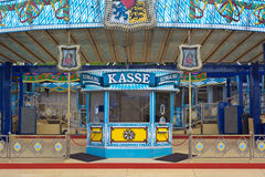 Amusement Ticket Window in Germany Stock Photography