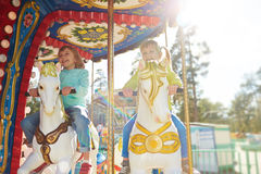 Amusement time Stock Images