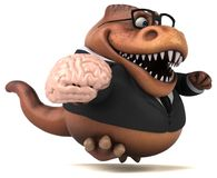 Amusement Trex - illustration 3D Photo stock