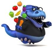 Amusement Trex - illustration 3D illustration de vecteur
