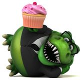 Amusement Trex - illustration 3D illustration stock