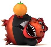 Amusement Trex - illustration 3D illustration libre de droits