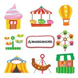 Amusement vector collection design vector illustration
