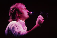 Amuseur de Phil Collins Image stock
