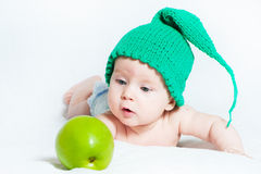 The amusing kid Royalty Free Stock Photos