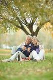 Amusing old couple Royalty Free Stock Image