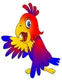 Amusing parrot reasons Royalty Free Stock Photography