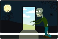 The amusing zombie Stock Photo