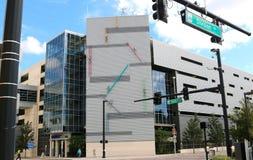 The Amway Center, Orlando, Florida Royalty Free Stock Photo