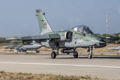 A-1 AMX del Cruzex in funzione FAVOLOSO fotografia stock libera da diritti