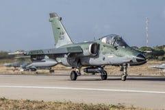A-1 AMX do FABULOSO na operação Cruzex foto de stock royalty free