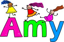 Amy Stock Image