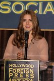 Amy Adams, Cecil B. De Mille Photographie stock