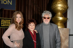 Amy Adams, Cecil B. DeMille, Pedro Almodovar Stock Photo