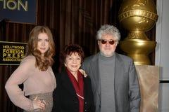 Amy Adams, Cecil B. DeMille, Pedro Almodovar stockfoto
